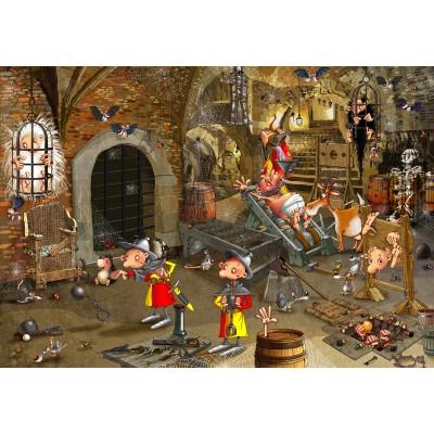 Puzzle  Grafika-Kids-01427 François Ruyer: Dungeon