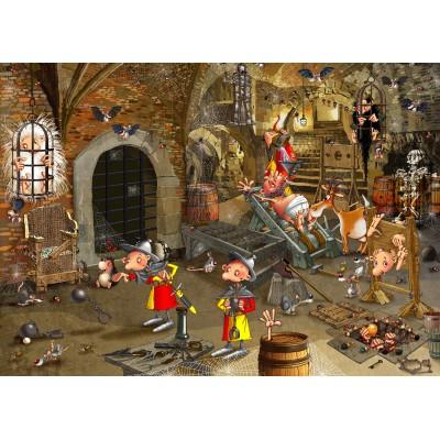 Puzzle  Grafika-Kids-01429 François Ruyer: Dungeon