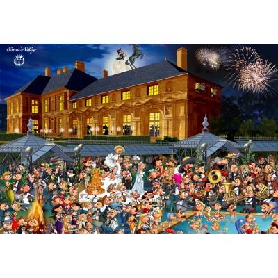 Puzzle  Grafika-Kids-01435 XXL Teile - François Ruyer: Château de Vallery