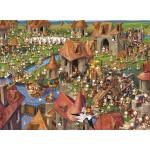 Puzzle  Grafika-Kids-01455 François Ruyer - Kaninchen