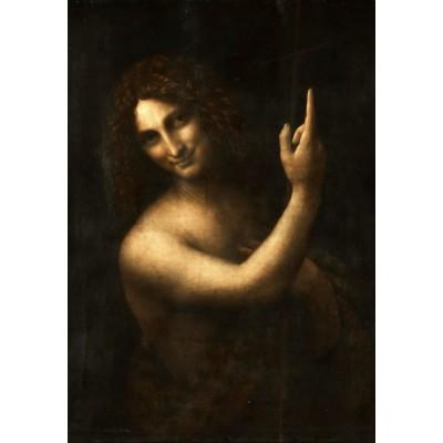 Puzzle  Grafika-Kids-01505 Leonard de Vinci : Saint Jean-Baptiste, 1513