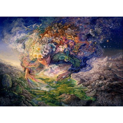 Puzzle  Grafika-Kids-01515 Josephine Wall - Breath of Gaia