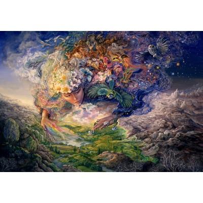 Puzzle  Grafika-Kids-01516 Josephine Wall - Breath of Gaia