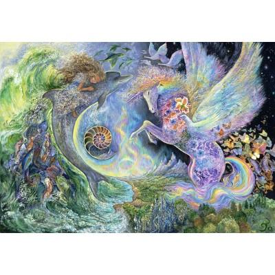 Puzzle  Grafika-Kids-01523 Josephine Wall - Magical Meeting