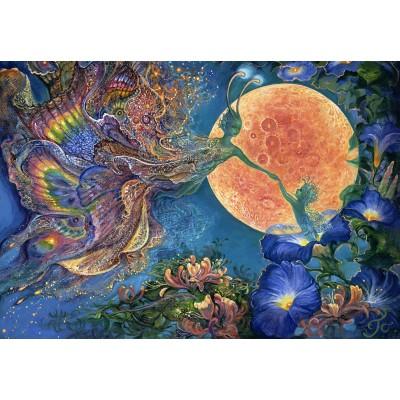 Puzzle  Grafika-Kids-01531 Josephine Wall - Moonlit Awakening