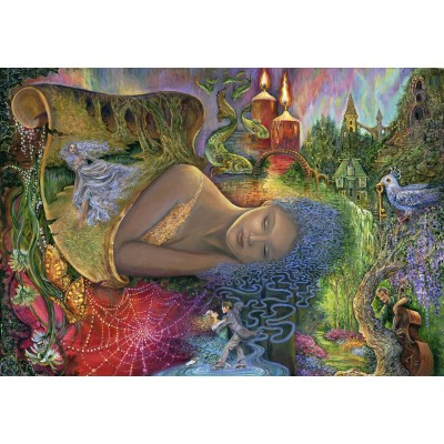 Puzzle  Grafika-Kids-01539 Josephine Wall - Dreaming in Color