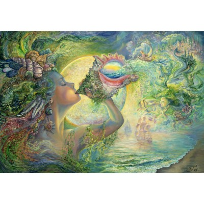 Puzzle  Grafika-Kids-01541 Josephine Wall - Call of the Sea