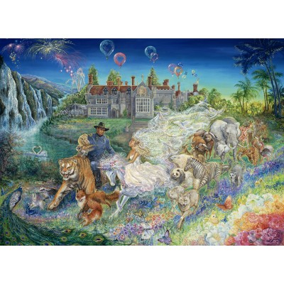 Puzzle  Grafika-Kids-01547 Josephine Wall - Fantasy Wedding