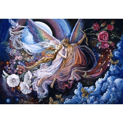 Puzzle  Grafika-Kids-01550 Josephine Wall - Eros and Psyche