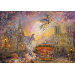Puzzle  Grafika-Kids-01562 Josephine Wall - Magical Merry Go Round