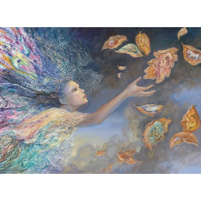 Puzzle  Grafika-Kids-01579 Josephine Wall - Catching Wishes