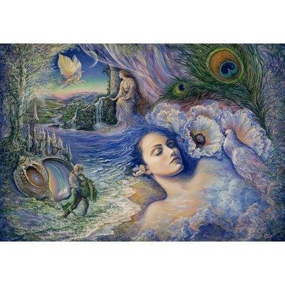 Puzzle  Grafika-Kids-01586 Josephine Wall - Whispered Dreams
