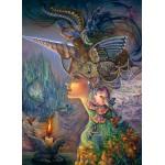 Puzzle  Grafika-Kids-01591 Josephine Wall - My Lady Unicorn