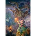 Puzzle  Grafika-Kids-01592 Josephine Wall - My Lady Unicorn