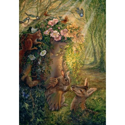 Puzzle  Grafika-Kids-01598 Josephine Wall - The Wood Nymph