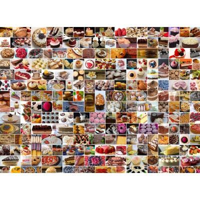 Puzzle  Grafika-Kids-01611 Collage - Kuchen