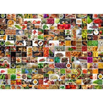 Puzzle  Grafika-Kids-01612 Küche in Farbe
