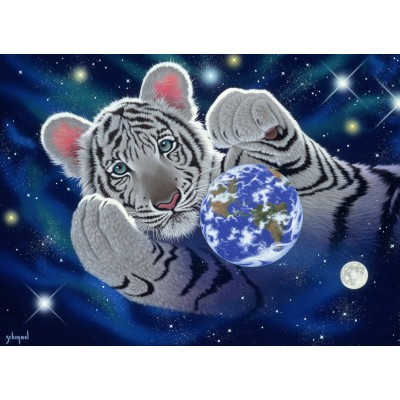 Puzzle  Grafika-Kids-01626 Schim Schimmel - A Hug For Mother