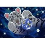 Puzzle  Grafika-Kids-01627 Schim Schimmel - A Hug For Mother