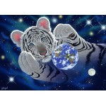 Puzzle  Grafika-Kids-01628 Magnetische Teile - Schim Schimmel - A Hug For Mother