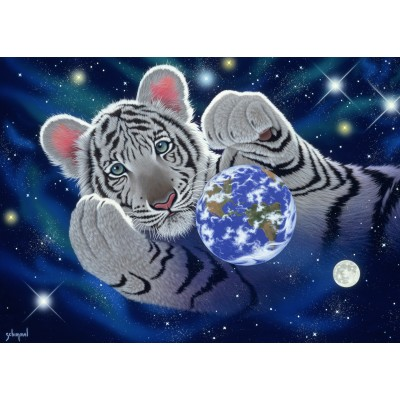 Puzzle  Grafika-Kids-01629 Schim Schimmel - A Hug For Mother
