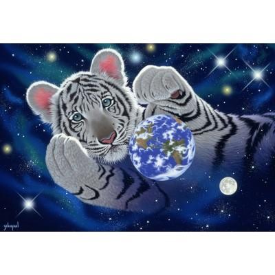 Puzzle  Grafika-Kids-01630 XXL Teile - Schim Schimmel - A Hug For Mother