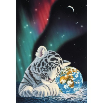 Puzzle  Grafika-Kids-01643 Schim Schimmel - Earth Light