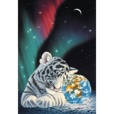 Puzzle  Grafika-Kids-01646 XXL Teile - Schim Schimmel - Earth Light
