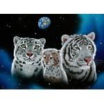 Puzzle  Grafika-Kids-01660 Schim Schimmel - Gentle Family