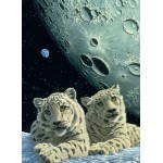 Puzzle  Grafika-Kids-01665 Schim Schimmel - Lair of the Snow Leopard