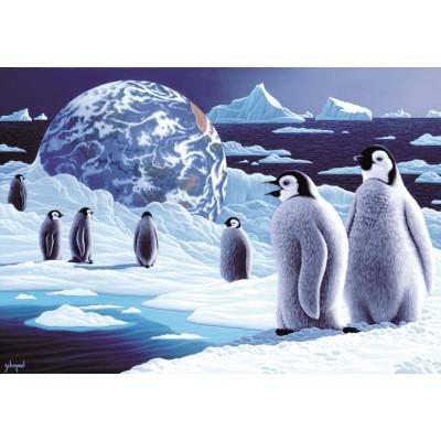 Puzzle  Grafika-Kids-01676 Schim Schimmel - Antarctica's Children