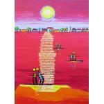 Puzzle  Grafika-Kids-01708 Anne Poiré et Patrick Guallino - Aube Rubis
