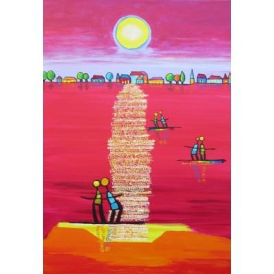 Puzzle  Grafika-Kids-01709 XXL Teile - Anne Poiré et Patrick Guallino - Aube Rubis