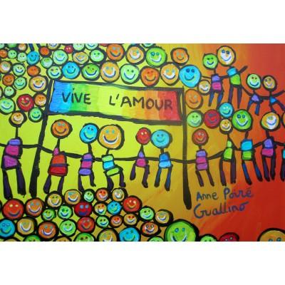 Puzzle  Grafika-Kids-01711 Anne Poiré & Patrick Guallino - Vive l'Amour