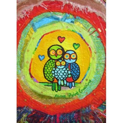 Puzzle  Grafika-Kids-01740 Anne Poiré & Patrick Guallino - Le Nid Porte-bonheur