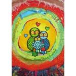 Puzzle  Grafika-Kids-01741 Anne Poiré & Patrick Guallino - Le Nid Porte-bonheur