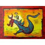 Puzzle  Grafika-Kids-01745 Anne Poiré & Patrick Guallino - Dragon Talisman