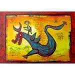 Puzzle  Grafika-Kids-01746 Anne Poiré & Patrick Guallino - Dragon Talisman