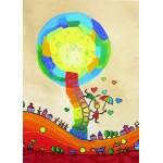 Puzzle  Grafika-Kids-01756 Magnetische Teile - Anne Poiré & Patrick Guallino - Les Ombrelles du Bonheur