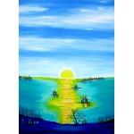 Puzzle  Grafika-Kids-01767 Anne Poiré & Patrick Guallino - Aube d'Aigue-marine