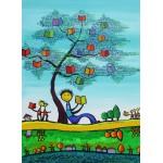 Puzzle  Grafika-Kids-01769 Anne Poiré & Patrick Guallino - D'une Feuille l'Autre