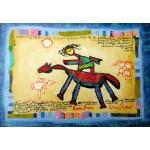 Puzzle  Grafika-Kids-01805 Anne Poiré & Patrick Guallino - Précieuse Chevauchée
