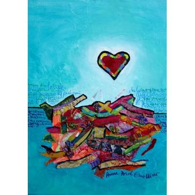 Puzzle  Grafika-Kids-01822 Anne Poiré & Patrick Guallino - Paysage Intérieur