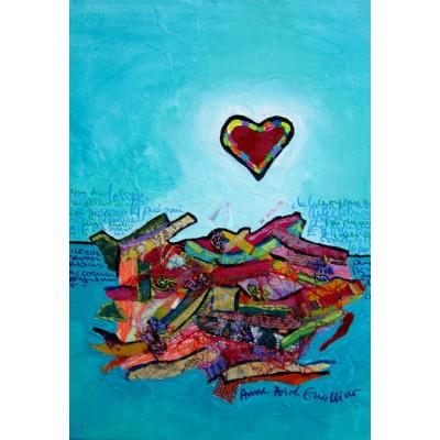 Puzzle  Grafika-Kids-01823 XXL Teile - Anne Poiré & Patrick Guallino - Paysage Intérieur