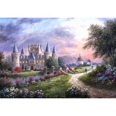 Puzzle  Grafika-Kids-01841 Dennis Lewan - Inverary Castle
