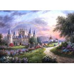Puzzle  Grafika-Kids-01842 Magnetische Teile - Dennis Lewan - Inverary Castle