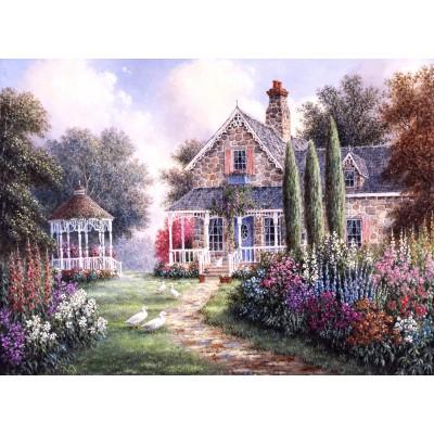 Puzzle  Grafika-Kids-01870 Dennis Lewan - Elmira's Cottage