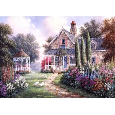 Puzzle  Grafika-Kids-01872 Magnetische Teile - Dennis Lewan - Elmira's Cottage