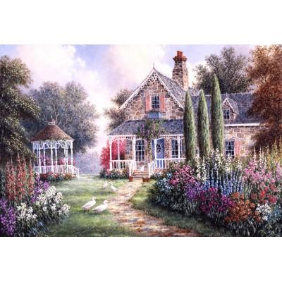 Puzzle  Grafika-Kids-01874 XXL Teile - Dennis Lewan - Elmira's Cottage
