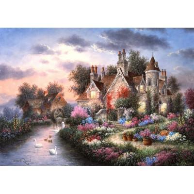 Puzzle  Grafika-Kids-01877 Magnetische Teile - Dennis Lewan - Mill Creek Manor